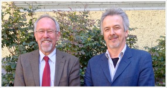 Geschäftsführer Harald Stebner und Technischer Leiter/stellvertretender Geschäftsführer Matthias Heller