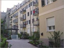 bwv, Bogenhausen, Trogerstraße Innenhof