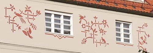 bwv München Ansprengerstraße, Fassaden-Detail